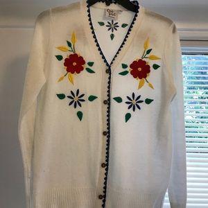 Modcloth white cardigan